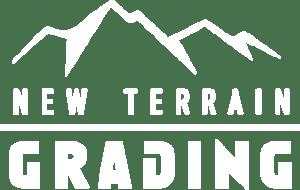 New Terrain Grading reverse white logo