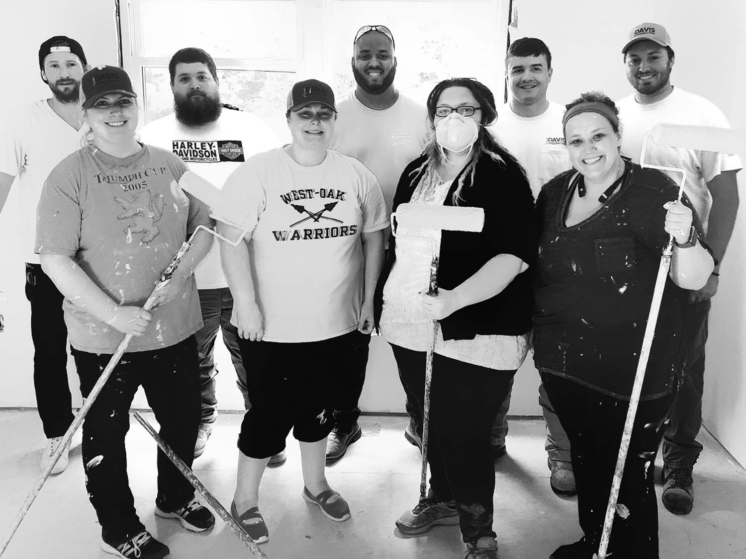 JDavis team helps habitat for humanity