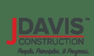 JDavis Construction color logo